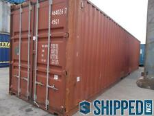 40FT INTERMODAL CARGO CONTAINER HOME STORAGE - BEST PRICE IN TEXAS - WE DELIVER!