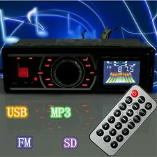 Reproductor MP3 Player estéreo Coche Auto Audio radio AUX Input FM USB SD 1DIN