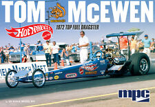 """NEW! MPC855 Tom """"Mongoose"""" McEwen '72 Rear Engine Hot Wheels NHRA Dragster 1/25"""