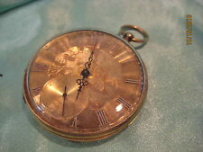 Rob Roskell Liverpool Pocket Watch 13 Jewel Detached Lever No. 7773