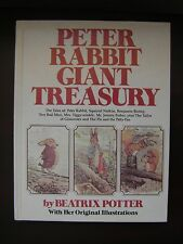Peter Rabbit Giant Treasury By Beatrix Potter with Her Original Illustrations