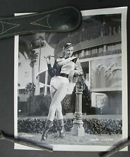 Vintage 1960s Photo of ANITA EKBERG in Jockey Outfit