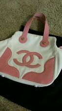 AUTHENTIC Chanel canvas bowling bag tote - LIMITED EDITION