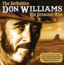 Don Williams - Definitive [New CD] England - Import