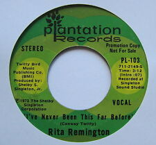 "RITA REMINGTON - Days Of Autum Gold - Excellent Con 7"" Single Plantation PL-114"