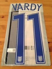 England EURO 2016 Home Shirt VARDY#11 OFFICIAL SportingiD PS-Pro Name Kit Set