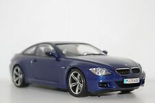 Kyosho BMW M6 E63 Interlagos Blue 80430413351 1:18 Dealer Edition