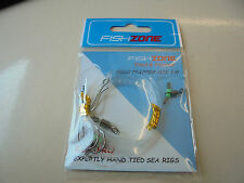 fishzone 2 hook flapper rig size 1/0.