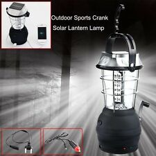 36 LED Lamp Outdoor Super Bright Rechargeable Camping Light Hand Crank Solar