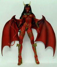 2001 ART ASYLUM LADY DEATH CHAOS COMICS DARK ALLIANCE SERIES 1 PURGATORI FIGURE