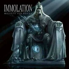 "IMMOLATION ""MAJESTY AND DECAY"" CD DEATH METAL NEW+"