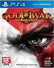 God of War III Remastered HK Chinese & English Subtitle Version PS4 NEW