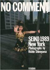 Kishin Shinoyama Photo Book SEIKO1989 New York Seiko Matsuda  JAPAN 1989 good