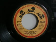 GEORGE HARRISON Crackerbox Palace/Learning How To Love You 45 DARK HOUSE DRC8313