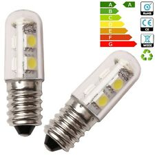 WOW - 2 X E14 1W Mini LED Light Bulb White for Range Hood Refrigerator Cooker