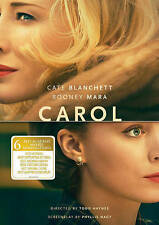 Carol (DVD, 2016) NEW  FREE FIRST CLASS SHIPPING !!!!