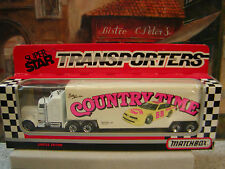 MATCHBOX 1991 SUPER STAR TRANSPORTERS PACCAR TRACTOR-TRAILER 1:87 DIE-CAST