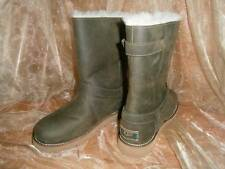UGG NOIRA BOOTS Pineneedle Green Sheepskin EU 37 UK 4 / US Women's 6  New