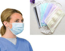 10pcs Dispsable Surgical Earloop Face Salon Dust Cleaning Flu Medical Mask