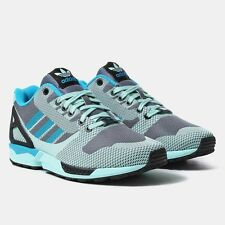ADIDAS ORIGINALS ZX FLUX WEAVE MEN'S SHOES SIZE US 11 ONIX FROST MINT B34898