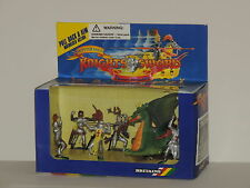 Britains Plastic Toy Soldier Set of Motorized Dragon & Knights of the Sword