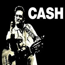 *Johnny Cash Middle Finger in/outdoor Vinyl Bumper Sticker Decal Hippie Biker