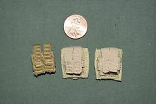 "1:6 Modern US Army Ammo Bullet Pouches (Lot of 3) for 12"" Action Figures C-141"