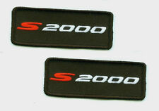 HONDA RACING TEAM FACTORY S2000 HONDA MUGEN HONDA PERFORMANCE S2000 2-PATCH SET
