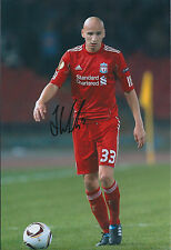 Jonjo SHELVEY SIGNED Liverpool Autograph 12x8 Photo AFTAL COA Swansea City