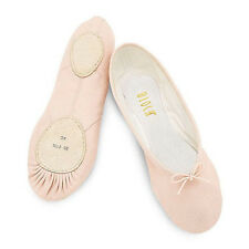 Bloch S0213L Women's Size 3C (fits size 5) Pink Prolite II Canvas Ballet Slipper