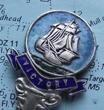 HMS Victory Nelsons Flagship Plated Enamel Crest Spoon