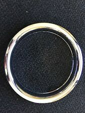"(1) 14"" Chrome Trailer Wheel Trim Ring Covers SHARP!!  1403 Phoenix USA"