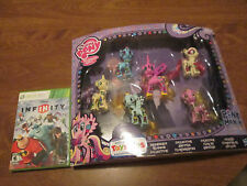 MY LITTLE PONY MANIA Toys R Us 6 PACK LOTUS BLOSSON,PRINCESS CADANCE,HELIA RARE