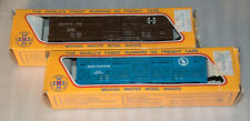 Lot of 2 Vintage HO Scale IHC Mehano Freight Box Cars NEW IN BOX