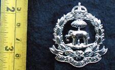 Obsolete Nigeria police cap / hat badge . Late pattern. Kings Crown.Scarce item