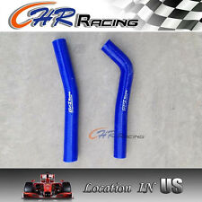 BLUE FOR Honda TRX450R 04 05 2004 2005 silicone radiator hose