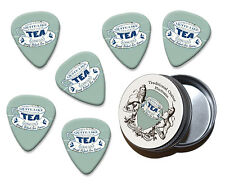 A Nice Cup Of Tea Martin Wiscombe 6 X Guitar Picks In Tin Vintage Retro