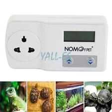 Digital Thermostat For Snake Reptile Heat Mat Lamp Incubator Aquarium