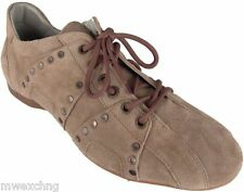 CESARE PACIOTTI US 7 STYLISH & TRENDY STUDDED SUEDE SPORT SHOES