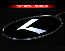 White Red 2Way LED Rear Trunk K Logo Emblem Badge 1EA For 2016+ Hyundai Tucson