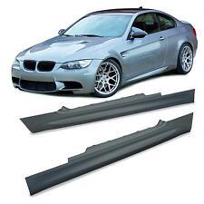 2 BAS DE CAISSE PACK M M3 BMW SERIE 3 E92 COUPE E93 CABRIOLET