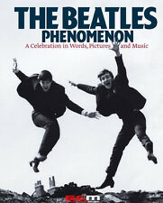 THE BEATLES PHENOMENON HUGE 31x25x3cm 496 PAGE ILLUSTRATED BIOGRAPHY