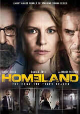 Homeland Season 3, Third, Three  (DVD, 2014, 4-Disc Set)