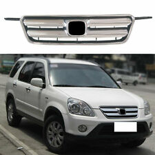 For Honda CRV 2002-2006 Silvery Car Parts Chrome Front Bumper Grill Trim Grille