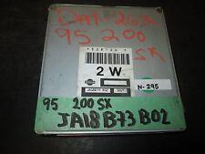 1995 NISSAN 200SX    ECU # JA18 B73 B02