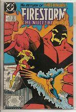 DC Comics Firestorm #76 October 1988 Firehawk NM-