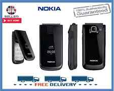 Brand New Nokia 2720 Black Flip Big Button Unlocked Mobile Phone 1 Year Warranty