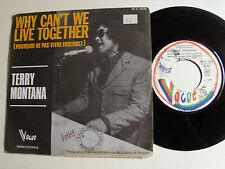 """TERRY MONTANA: Why can't we live together - 7"""" SP 1973 French VOGUE 45 V 4226"""