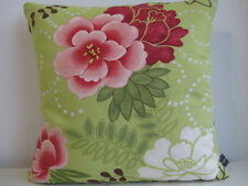 Jane Churchill Cotton & Acacia Yellow/Lime Velvet Fabric Designer Cushion Cover