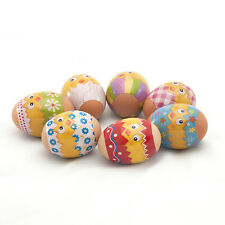 Easter Egg Wraps/Stickers Amazing Colours Funny Chickens Easter Egg Decor Craft